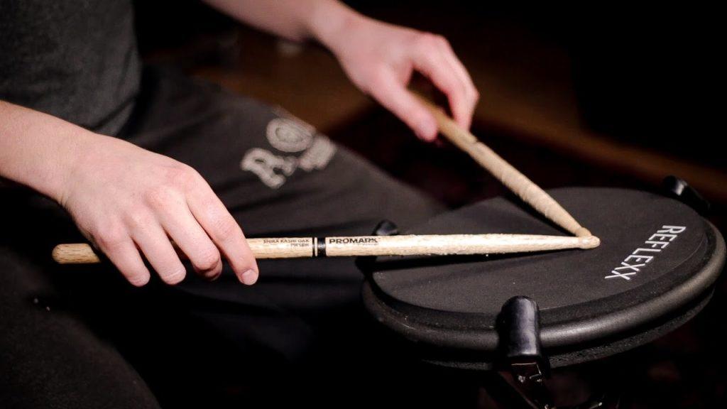 electronic drum practice pad