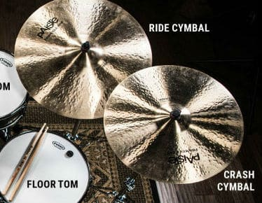 crash and ride cymbal