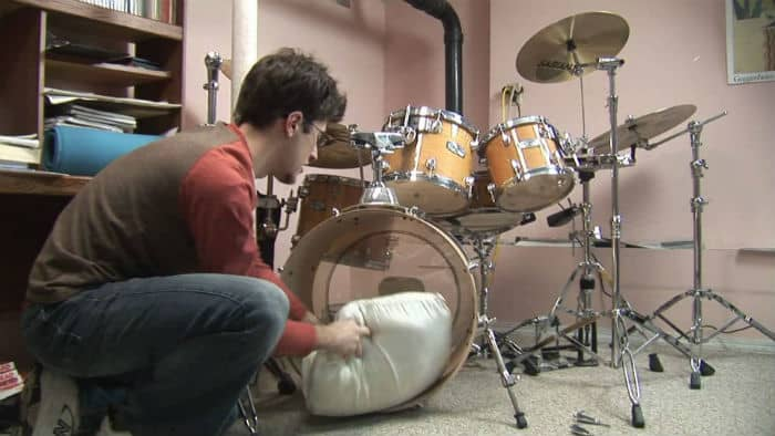 dampen or muffle your bass drum