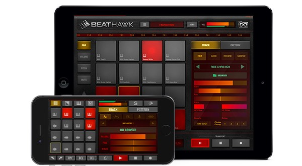 BeatHawk is a complete portable music production studio