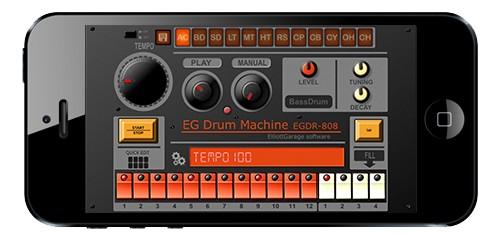Classic '808 Drum Machine App