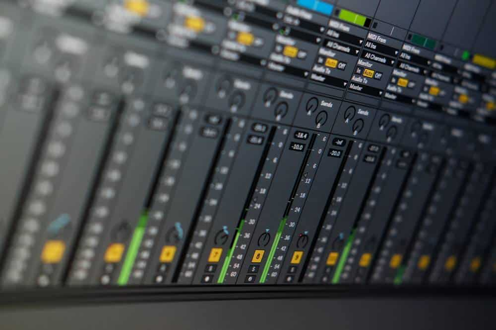 Producing music in a DAW