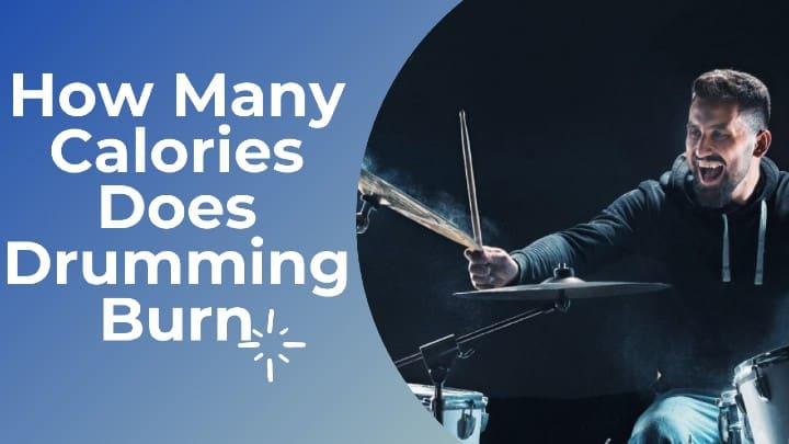 calories burned during drumming