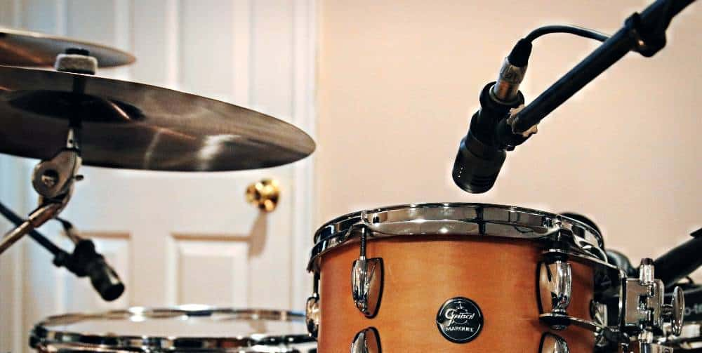 overhead drum mic placement