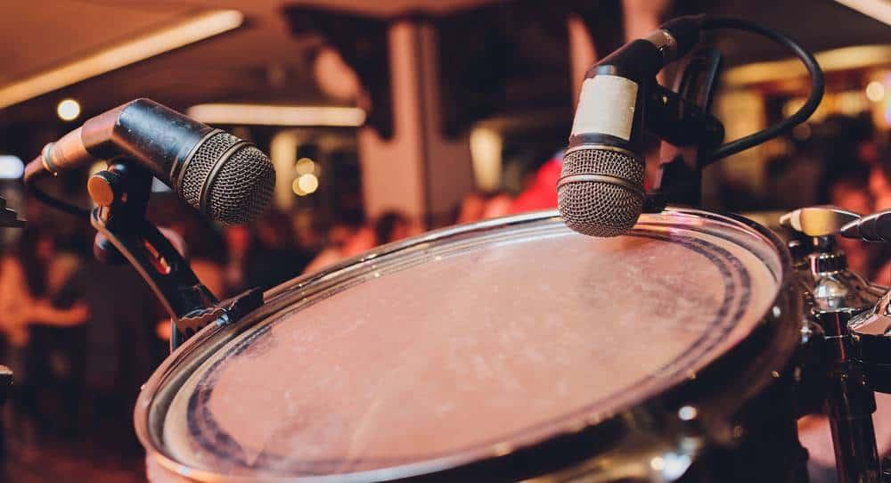 overhead drum mics